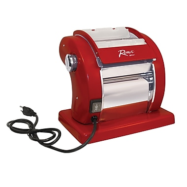 Weston® Roma Deluxe Electric Pasta Machine, Red