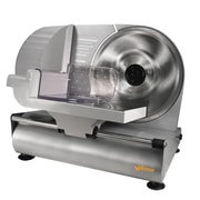 "Weston® 9"" Meat Slicer, Silver"