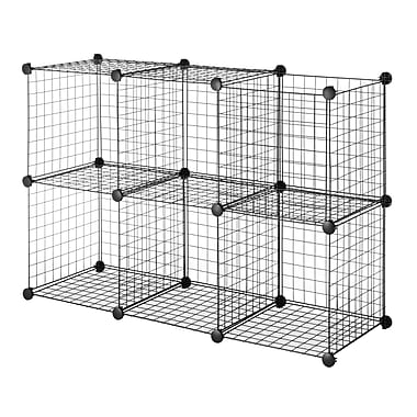 whitmor wire storage cubes roselawnlutheran. Black Bedroom Furniture Sets. Home Design Ideas
