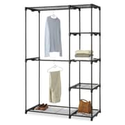 Whitmor Resin/Metal Storage Rack, Black