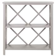 Safavieh Liam 35.6'' Open Bookcase; Grey