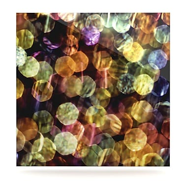 KESS InHouse Warm Sparkle by Ingrid Beddoes Graphic Art Plaque; 8'' H x 8'' W