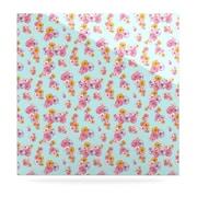 KESS InHouse Paper Flower by Laura Escalante Graphic Art Plaque; 8'' H x 8'' W