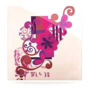 KESS InHouse by Louise Machado Graphic Art Plaque; 8'' H x 8'' W