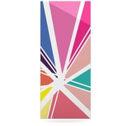 KESS InHouse Boldly Bright by Belinda Gillies Graphic Art Plaque; 21'' H x 9'' W