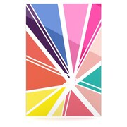 KESS InHouse Boldly Bright by Belinda Gillies Graphic Art Plaque; 36'' H x 24'' W