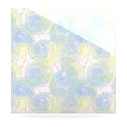 KESS InHouse Paper Flower by Alison Coxon Graphic Art Plaque; 10'' H x 10'' W