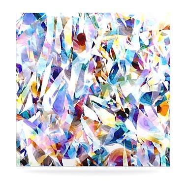 KESS InHouse Buzz by Gabriela Fuente Graphic Art Plaque; 8'' H x 8'' W