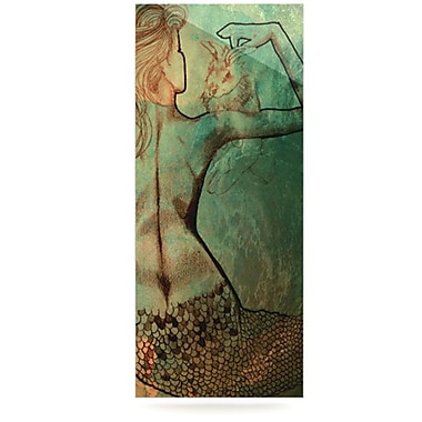 KESS InHouse Poor Mermaid by Theresa Giolzetti Graphic Art Plaque
