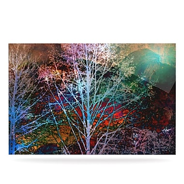 KESS InHouse Trees in the Night by Sylvia Cook Graphic Art Plaque