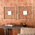 Wildon Home   Hollis  Wall Mirror (Set of 2)