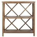 Safavieh Liam 35.6'' Open Bookcase; Oak