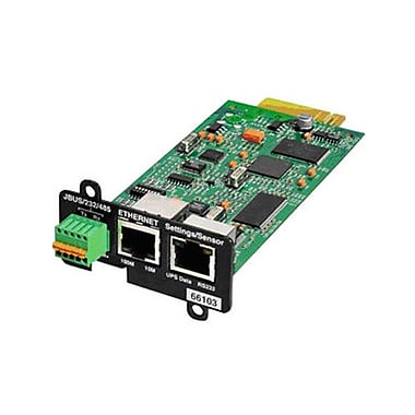 Eaton® Network and MODBUS CardMS RMT Management Adapter