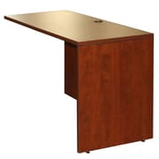 Boss Office Products 36'' H x 36'' W Desk Return; Mahogany