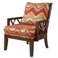 Hokku Designs Stockport Cotton Arm Chair
