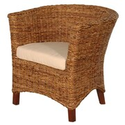 Jeffan U-Chair Abaca Small Astor Chair