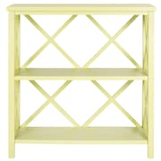 Safavieh Liam 35.6'' Open Bookcase; Avocado Green