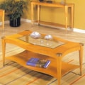 Alpine Furniture Sausalito Coffee Table; Natural