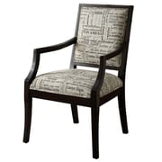 Hokku Designs Brooke Cotton Arm Chair