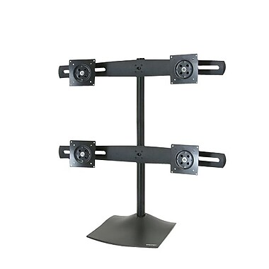 Ergotron® DS100 Quad-Monitor Desk Stand for Flat -Panel Display