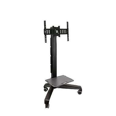 Ergotron® 24-190-085 Neo-Flex® Mobile MediaCenter Low Definition (LD) TV Cart, Black