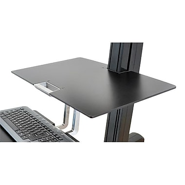 Ergotron® 97-581-019 Worksurface for WorkFit-S, Black