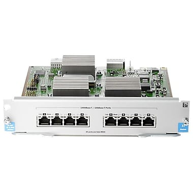 HP® J9546A Expansion Module for E5400/E8200 Series zl Switches, 8-Port