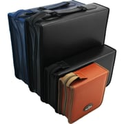 Ideausa Leather Cd/Dvd/Blu-Ray Disc Portable Storage Case