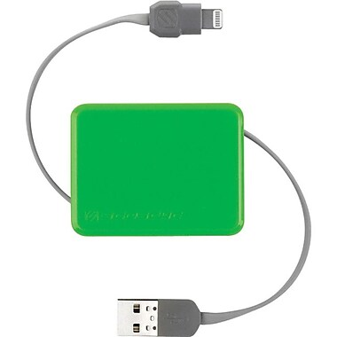 SCOSCHE IPHONE5/5S/5C Reactable Box Charge Cable I2BOXGN