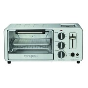 Waring Pro® 4-Slice 45 cu. ft Toaster Oven, Brushed Stainless Steel