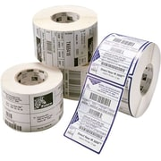 Zebra Technologies® Z-Select 4000T Thermal Transfer Paper Label, 4 x 2 1/2