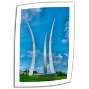 ArtWall Air Force Memorial Unwrapped Canvas Art By Steve Ainsworth, 24 x 16