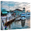 """ArtWall """"Alexandria Waterfront"""" Gallery Wrapped Canvas Arts By Steve Ainsworth"""