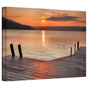 "ArtWall ""Another Kekua Sunrise"" Gallery Wrapped Canvas Arts By Steve Ainsworth"