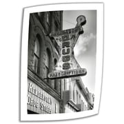"""ArtWall """"Drug Store Sign"""" Unwrapped Canvas Art By Steve Ainsworth, 18"""" x 12"""""""