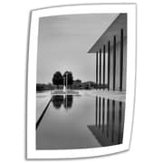 ArtWall inch The Kennedy Center Pool inch Unwrapped Canvas Art By Steve Ainsworth, 36 inch... by