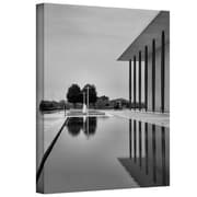 "ArtWall ""The Kennedy Center Pool"" Gallery Wrapped Canvas Art By Steve Ainsworth, 24"" x 16"""