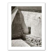 "ArtWall ""Pilgrim's Cross"" Unwrapped Canvas Arts By Steve Ainsworth"