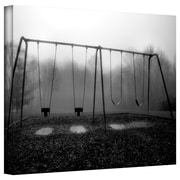 "ArtWall ""Silent Swings"" Gallery Wrapped Canvas Art By Steve Ainsworth, 12"" x 18"""