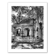 """ArtWall """"Old Well House"""" Unwrapped Canvas Art By Steve Ainsworth, 18"""" x 14"""""""