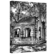 """ArtWall """"Old Well House"""" Gallery Wrapped Canvas Art By Steve Ainsworth, 32"""" x 24"""""""
