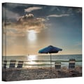 ArtWall in.Tropical Easein. Gallery Wrapped Canvas Art By Steve Ainsworth, 14in. x 18in.