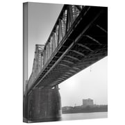 """ArtWall """"Under the Bridge"""" Gallery Wrapped Canvas Art By Steve Ainsworth, 24"""" x 18"""""""