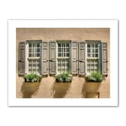 "ArtWall ""Windows of Old Charleston"" Unwrapped Canvas Arts By Steve Ainsworth"