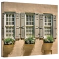 ArtWall in.Windows of Old Charlestonin. Gallery Wrapped Canvas Arts By Steve Ainsworth