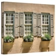"""ArtWall """"Windows of Old Charleston"""" Gallery Wrapped Canvas Arts By Steve Ainsworth"""