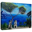 """ArtWall """"Amalfi"""" Gallery Wrapped Canvas Arts By Martina and Markus Bleichner"""