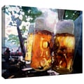 ArtWall in.Biergartenin. Gallery Wrapped Canvas Arts By Martina and Markus Bleichner