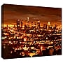 ArtWall City of Angels Gallery Wrapped Canvas Art
