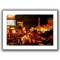 ArtWall in.Las Vegasin. Flat Unwrapped Canvas Arts By Martina and Markus Bleichner